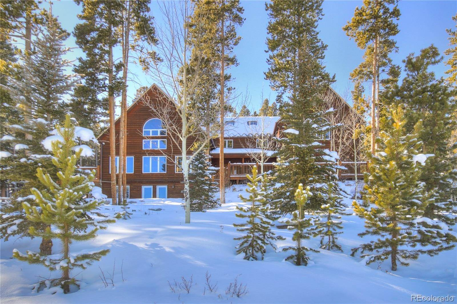 Single Family Homes pour l Vente à 153 926 Road Breckenridge, Colorado 80424 États-Unis