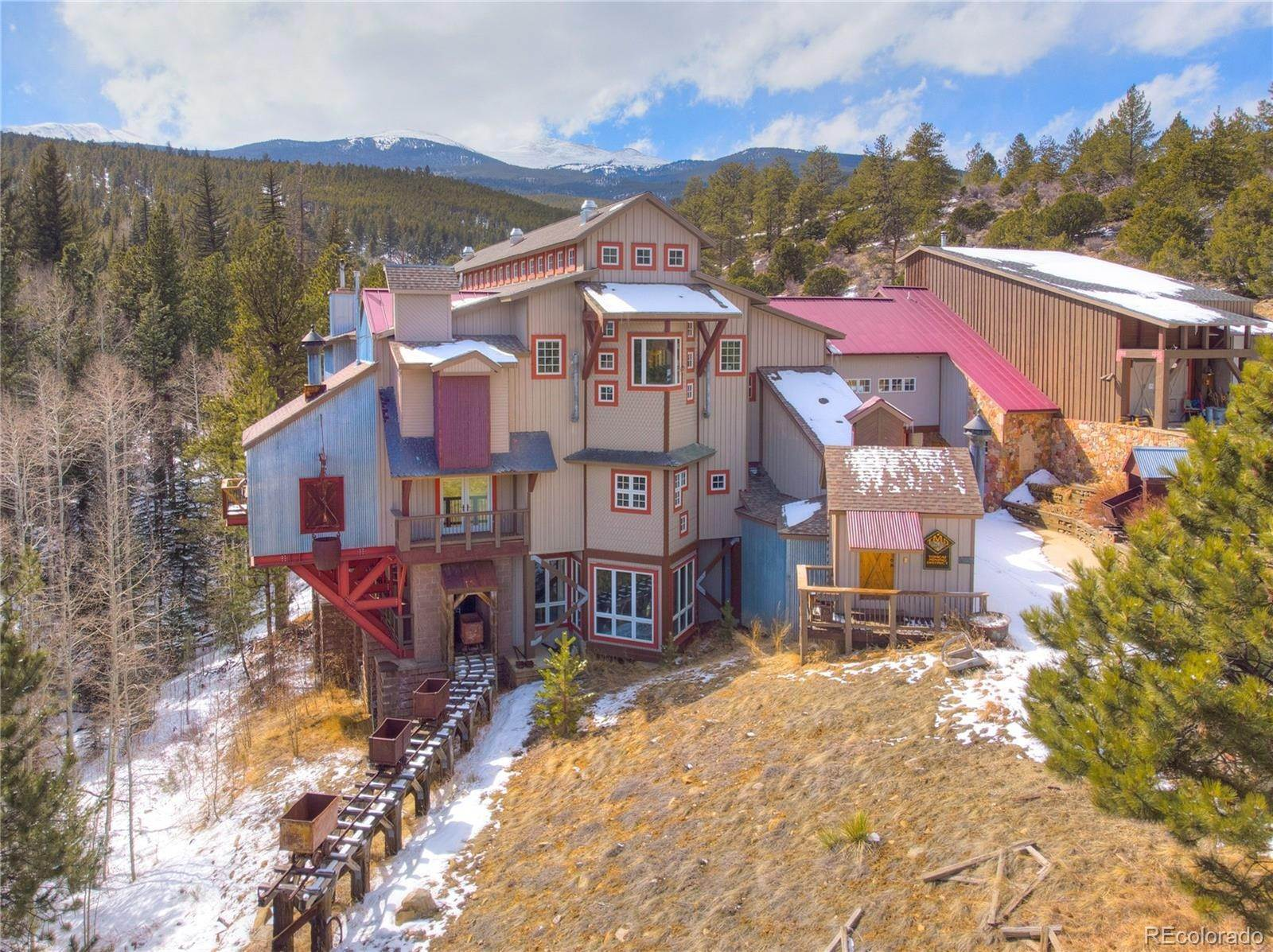 Single Family Homes por un Venta en 36570 US Highway 24 Buena Vista, Colorado 81211 Estados Unidos