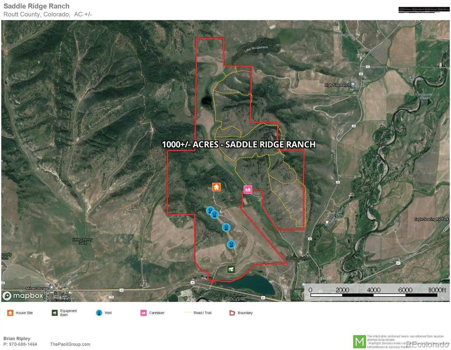7. Land for Sale at 39125 Thompson Lane Steamboat Springs, Colorado 80487 United States
