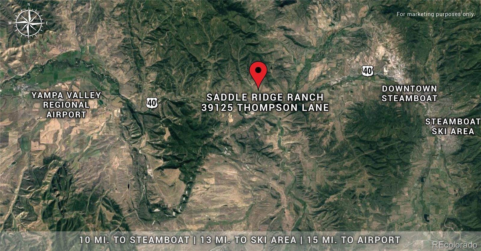 8. Land for Sale at 39125 Thompson Lane Steamboat Springs, Colorado 80487 United States