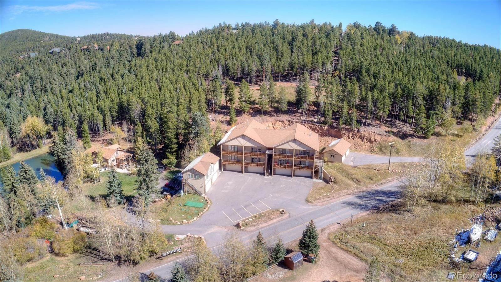 Single Family Homes at 9168 Black Mountain Drive Conifer, Colorado 80433 United States