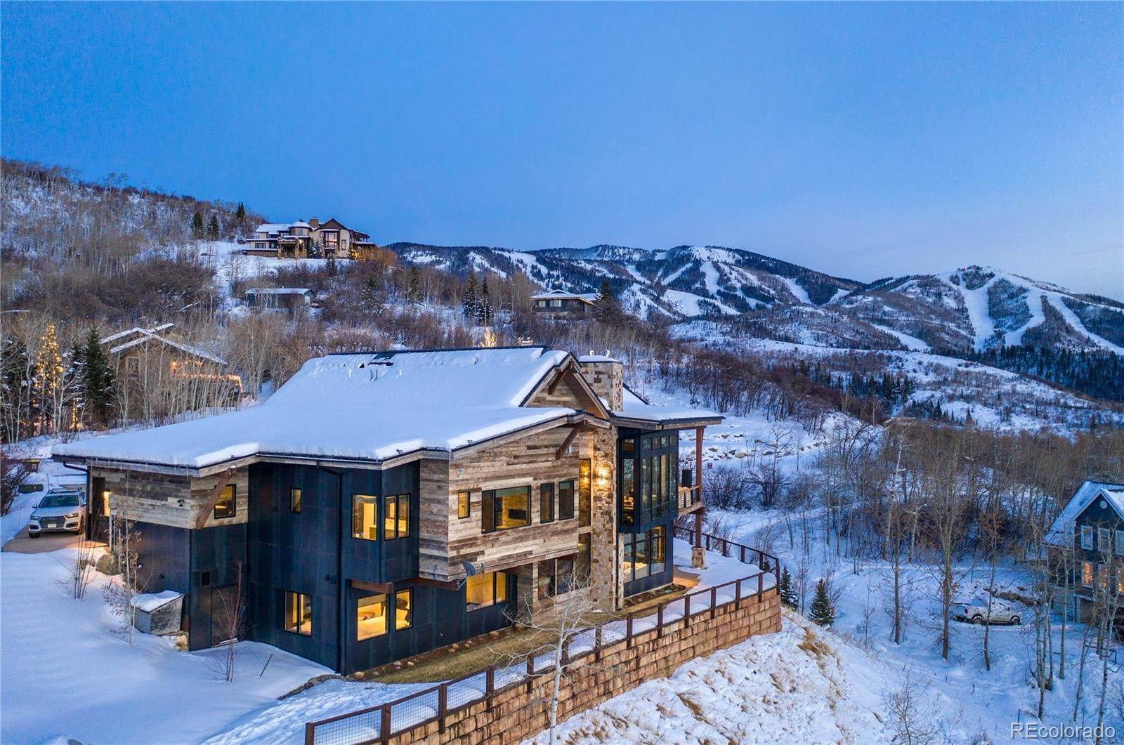 Single Family Homes for Sale at 145 Deer Clover Lane Steamboat Springs, Colorado 80487 United States