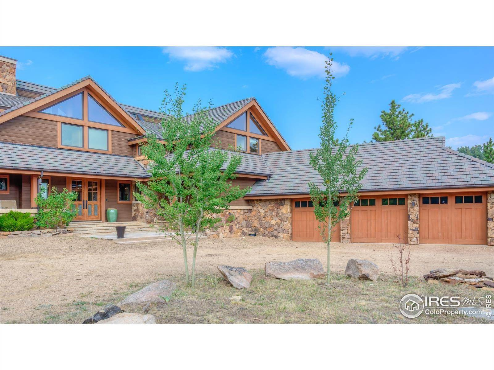 Single Family Homes pour l Vente à 11780 Gold Hill Road Boulder, Colorado 80302 États-Unis