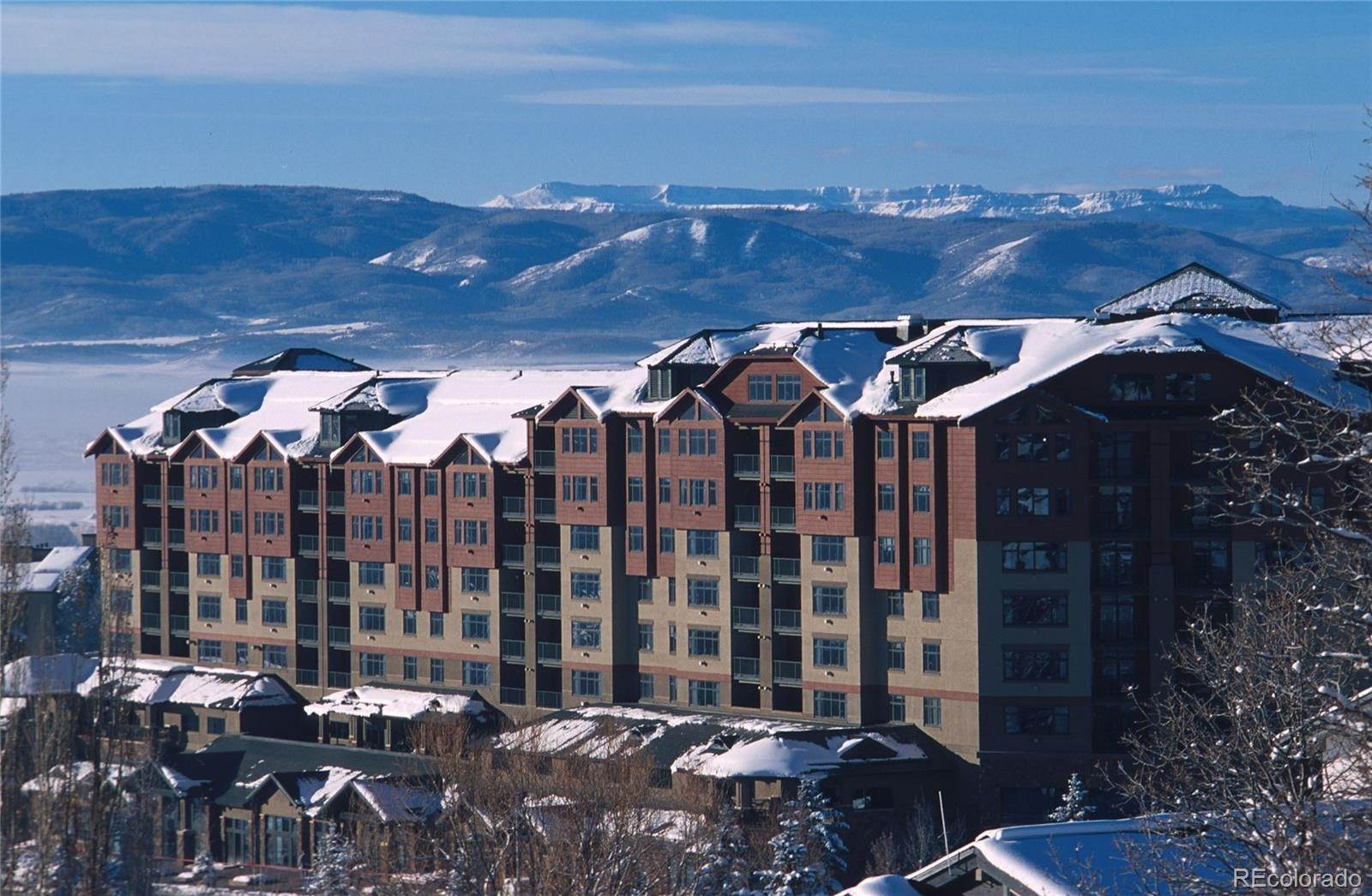 Single Family Homes for Sale at 2300 Mt. Werner Circle 411/414 Cal4 Steamboat Springs, Colorado 80487 United States