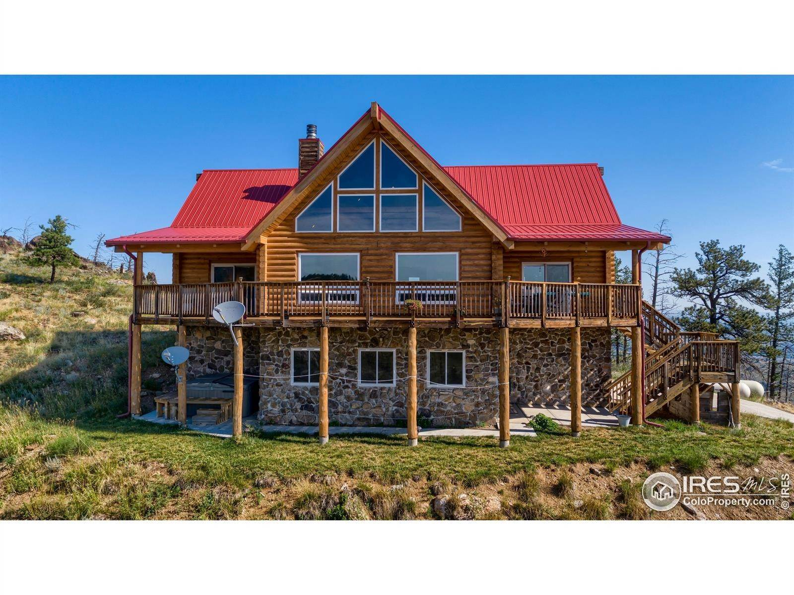 Single Family Homes for Sale at 1234 Saddle Ridge Road Bellvue, Colorado 80512 United States