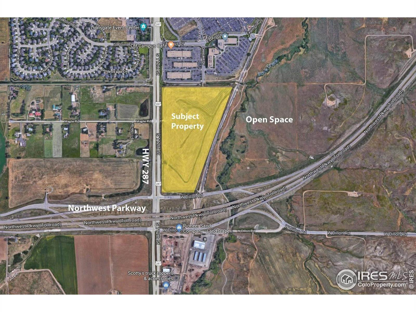Land for Sale at 287 & Dillon Road Lafayette, Colorado 80026 United States