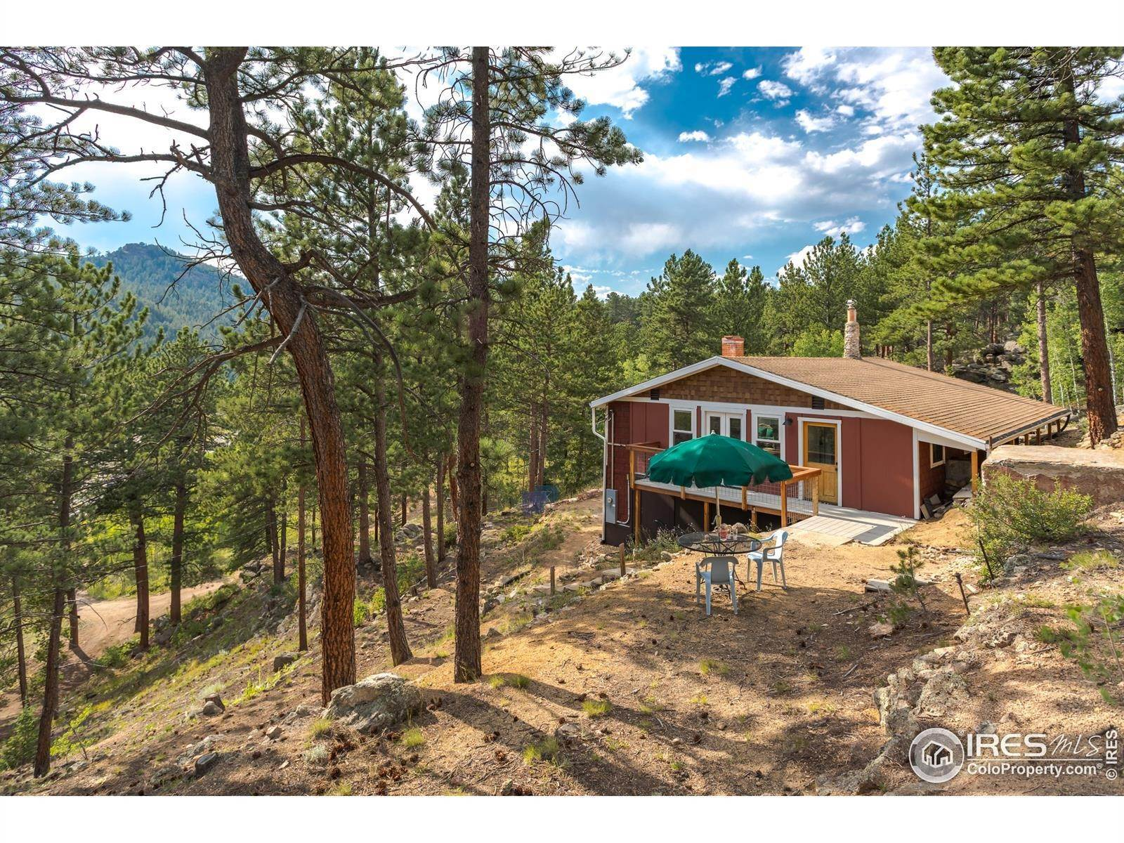 Single Family Homes for Sale at 3497 Coal Creek Canyon Drive Pinecliffe, Colorado 80471 United States