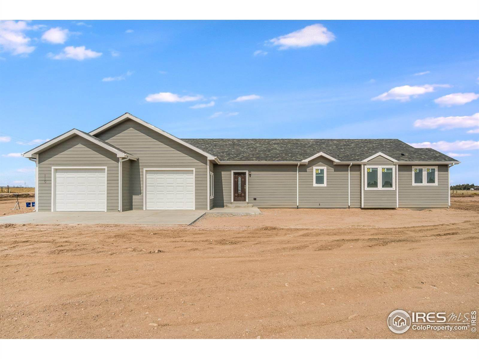 Single Family Homes pour l Vente à 117 2nd Street Nunn, Colorado 80648 États-Unis