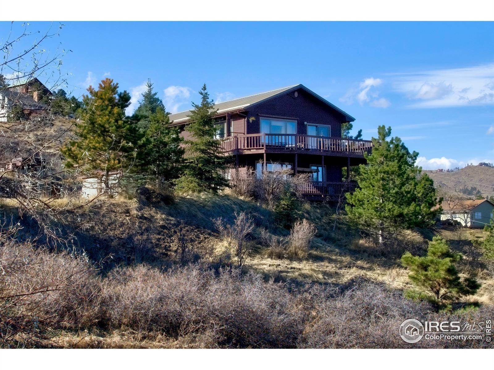 Single Family Homes for Sale at 6000 Red Cedar Drive Bellvue, Colorado 80512 United States