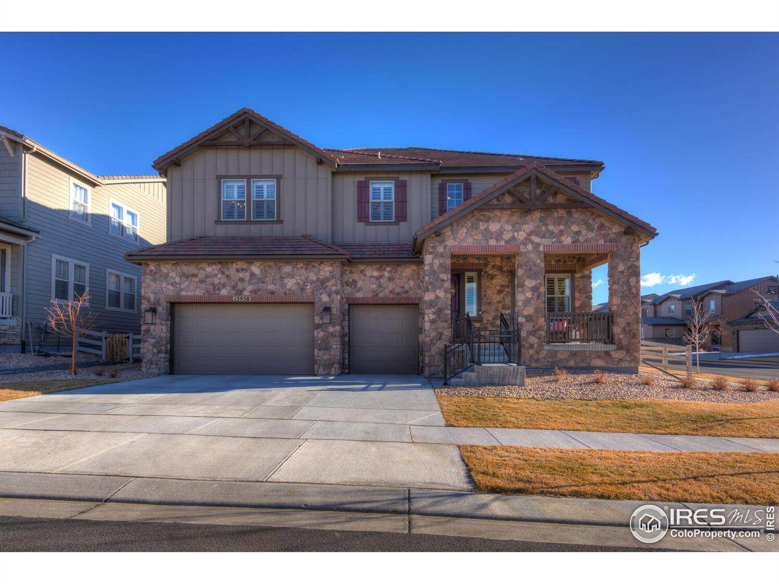 Single Family Homes for Sale at 15958 Humboldt Peak Drive Broomfield, Colorado 80023 United States