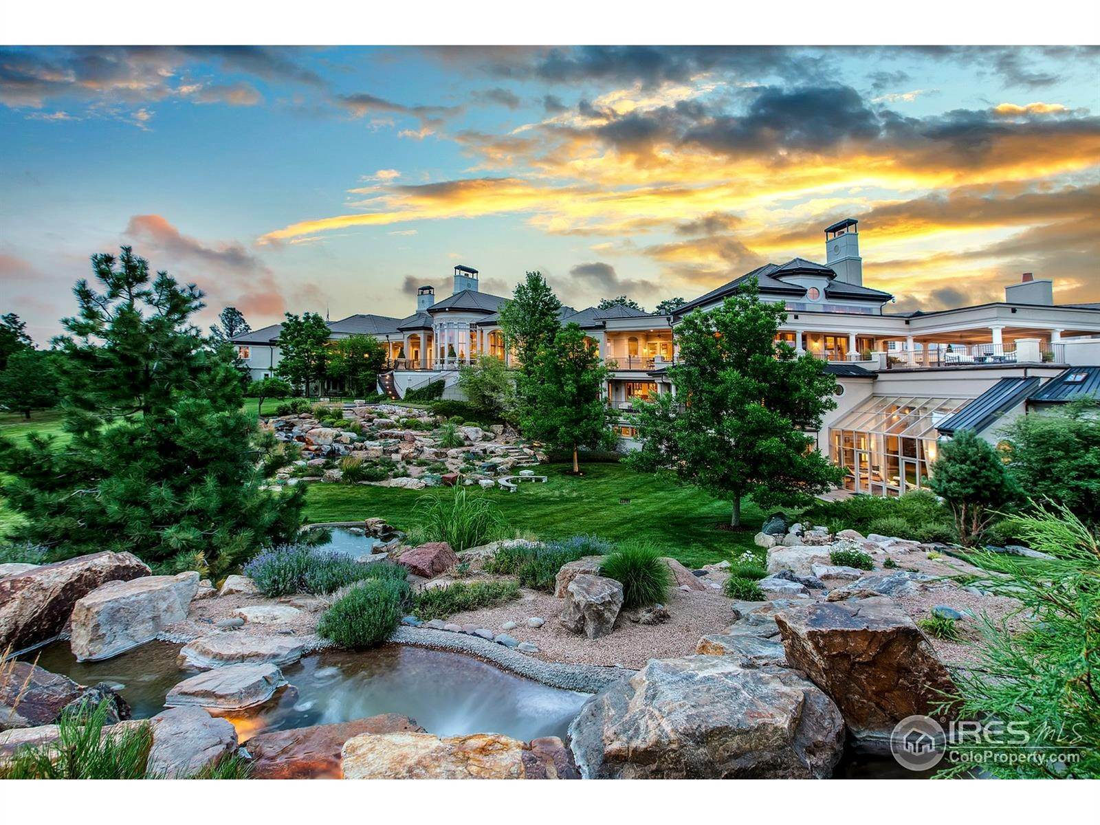 Single Family Homes for Sale at 10687 Evans Ridge Road Parker, Colorado 80134 United States