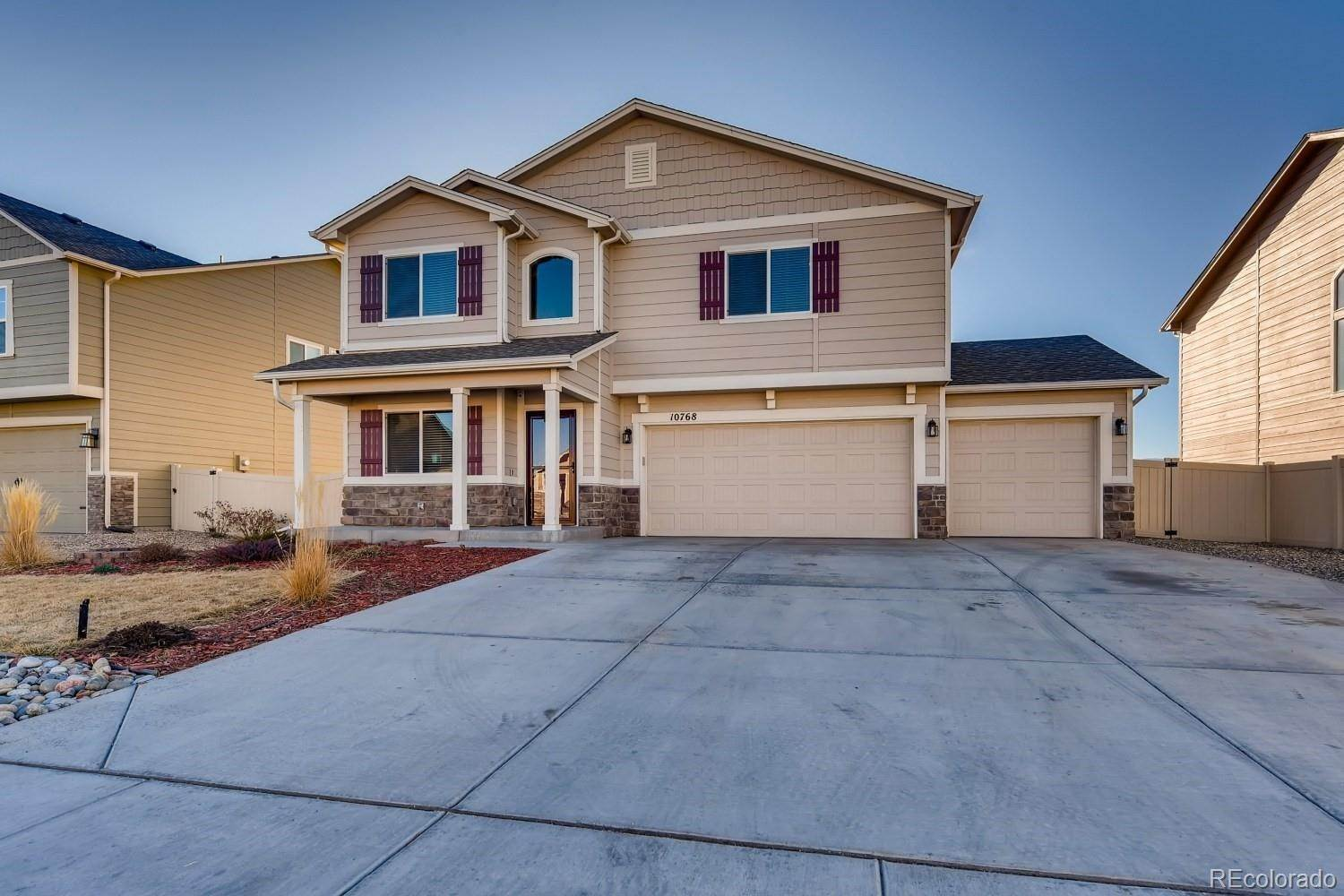 Single Family Homes for Sale at 10768 Hidden Prairie Parkway Fountain, Colorado 80817 United States