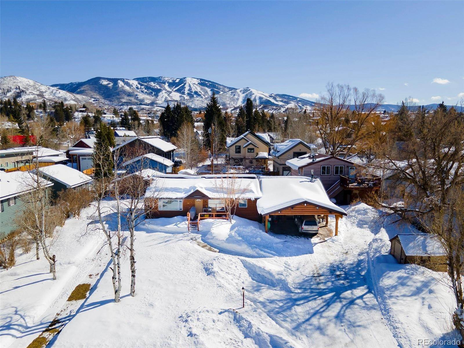 Single Family Homes for Sale at 510 8th Street Steamboat Springs, Colorado 80487 United States