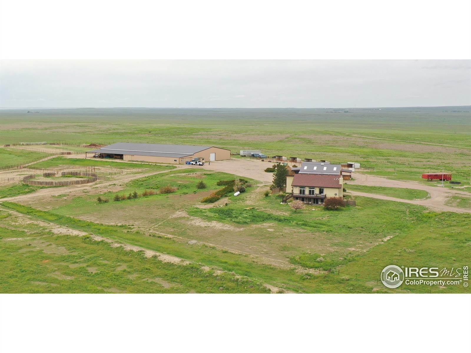 Single Family Homes for Sale at 45001 County Road 57 Ault, Colorado 80610 United States