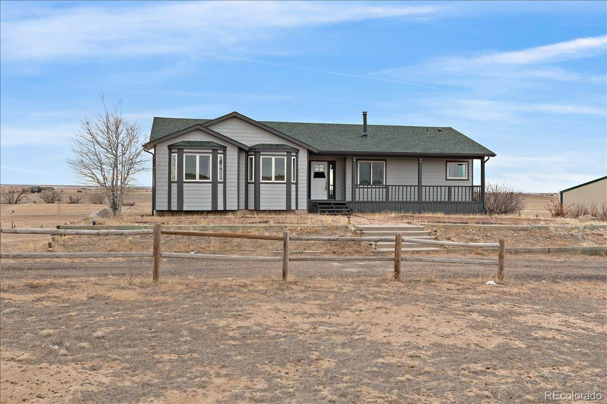 Single Family Homes for Sale at 2185 S County Road 193 Byers, Colorado 80103 United States