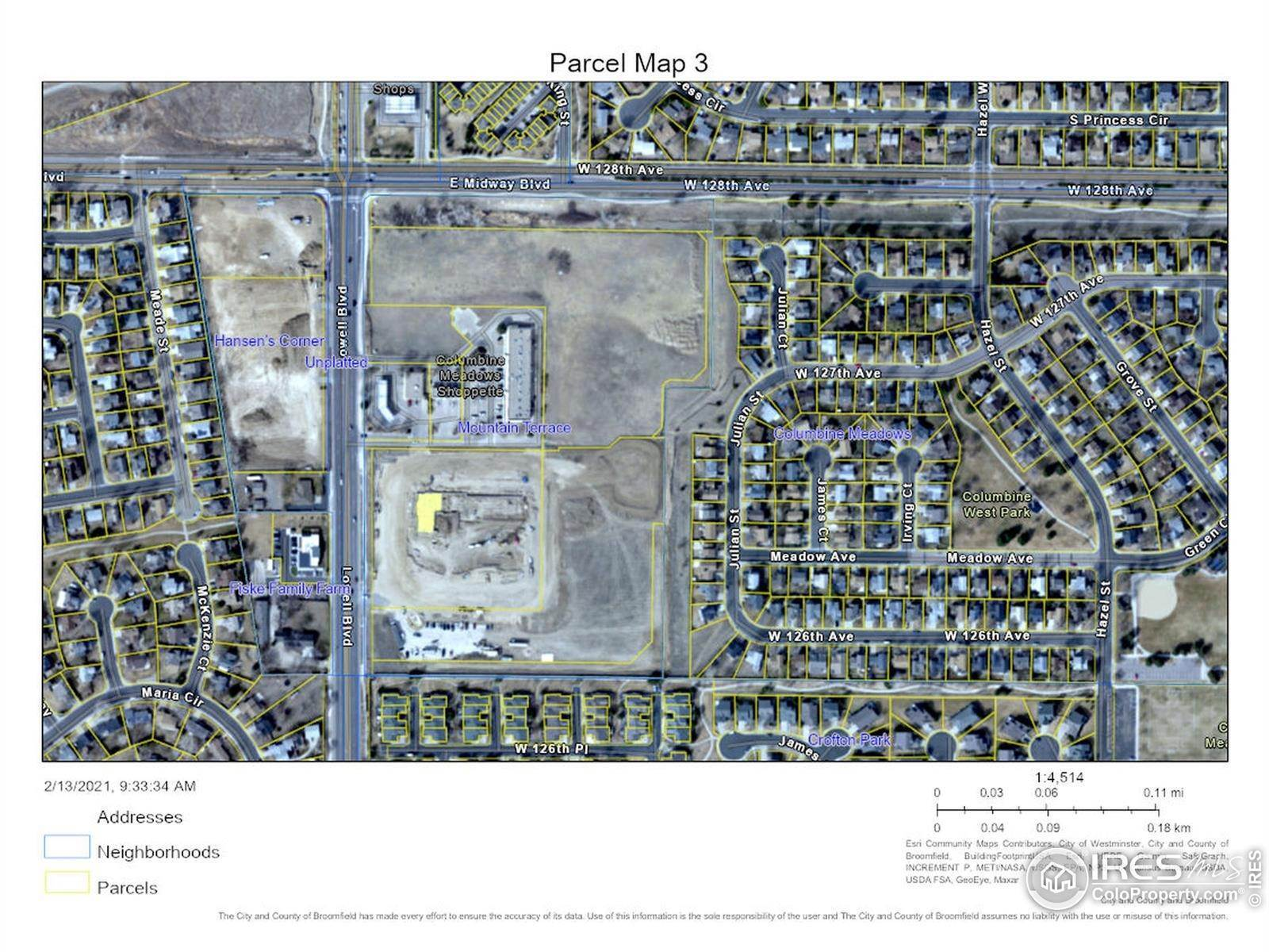Land for Sale at 12780 Julian Court Broomfield, Colorado 80020 United States