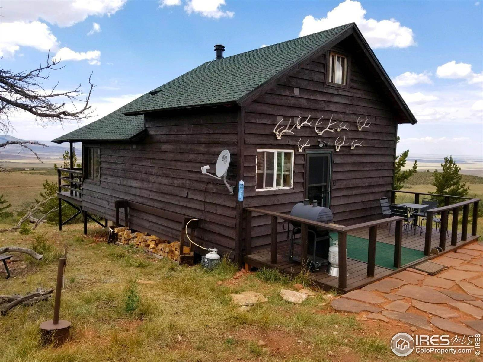 Ferme pour l Vente à 351 Windy Ridge Road Red Feather Lakes, Colorado 80545 États-Unis