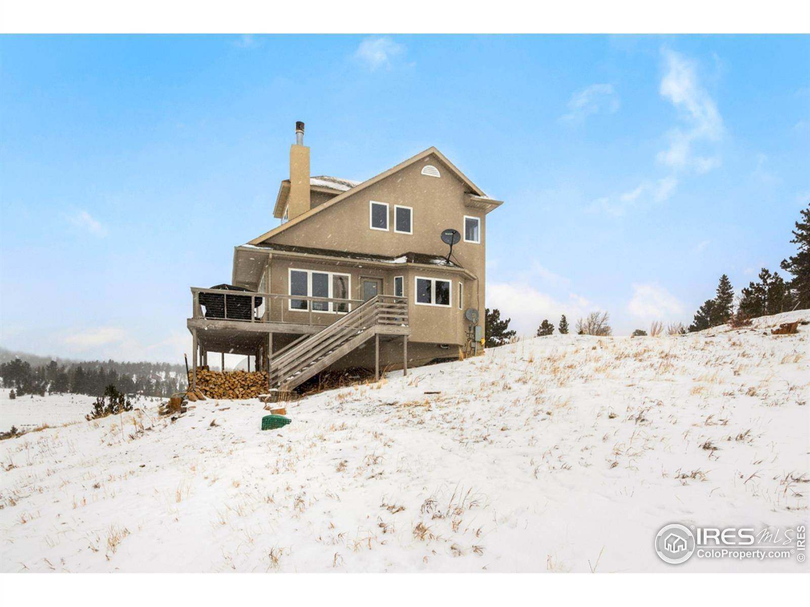 Single Family Homes pour l Vente à 759 Huron Road Red Feather Lakes, Colorado 80545 États-Unis