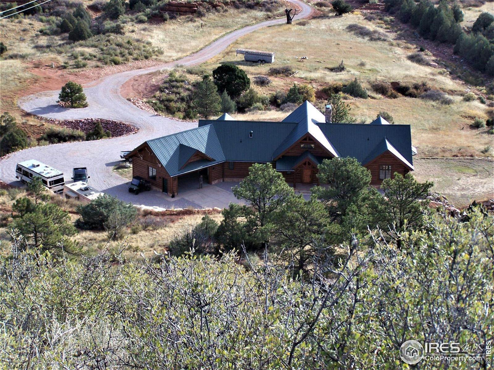 Farm for Sale at 5649 Hawk Canyon Road Wellington, Colorado 80549 United States