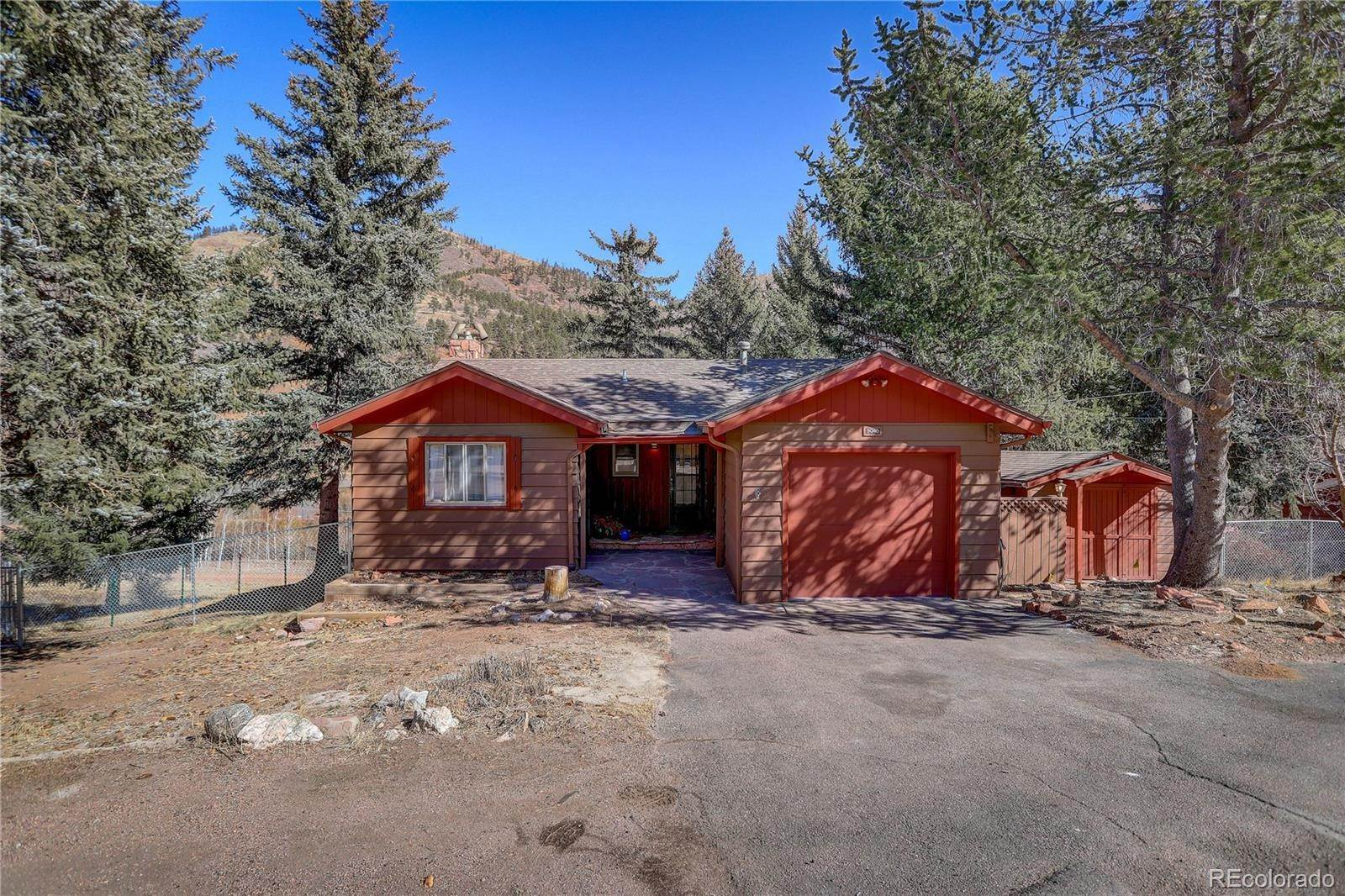 Single Family Homes por un Venta en 9040 Chipita Park Road Cascade, Colorado 80809 Estados Unidos