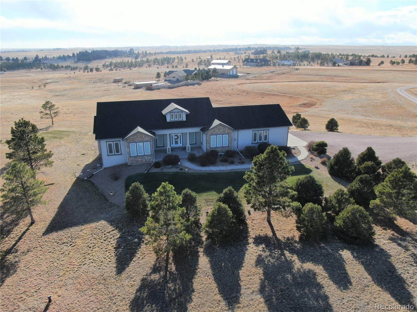 Single Family Homes for Sale at 40620 S Thunder Hill Road Elizabeth, Colorado 80107 United States