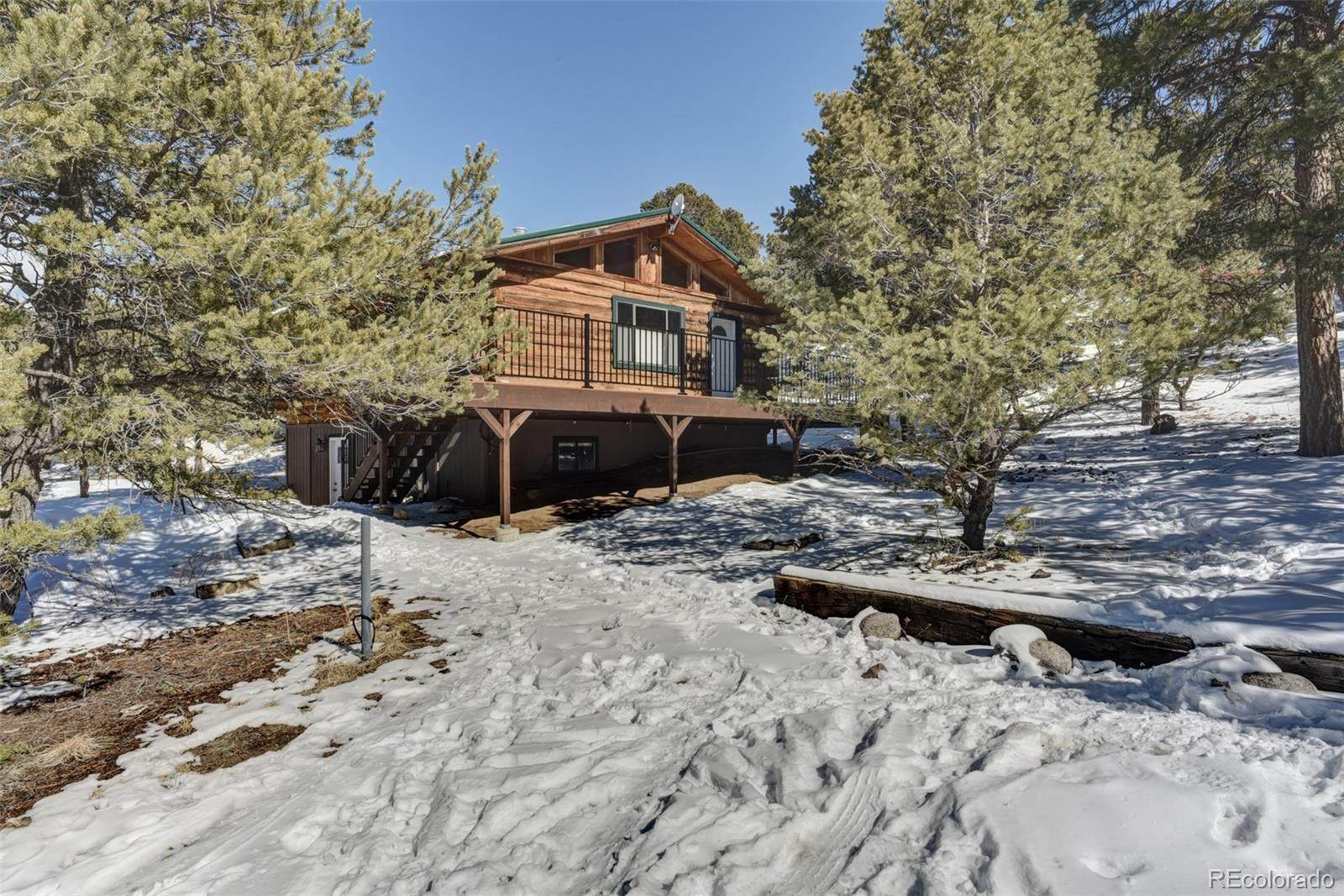 Single Family Homes for Sale at 15200 Chimney Rock Road Nathrop, Colorado 81236 United States