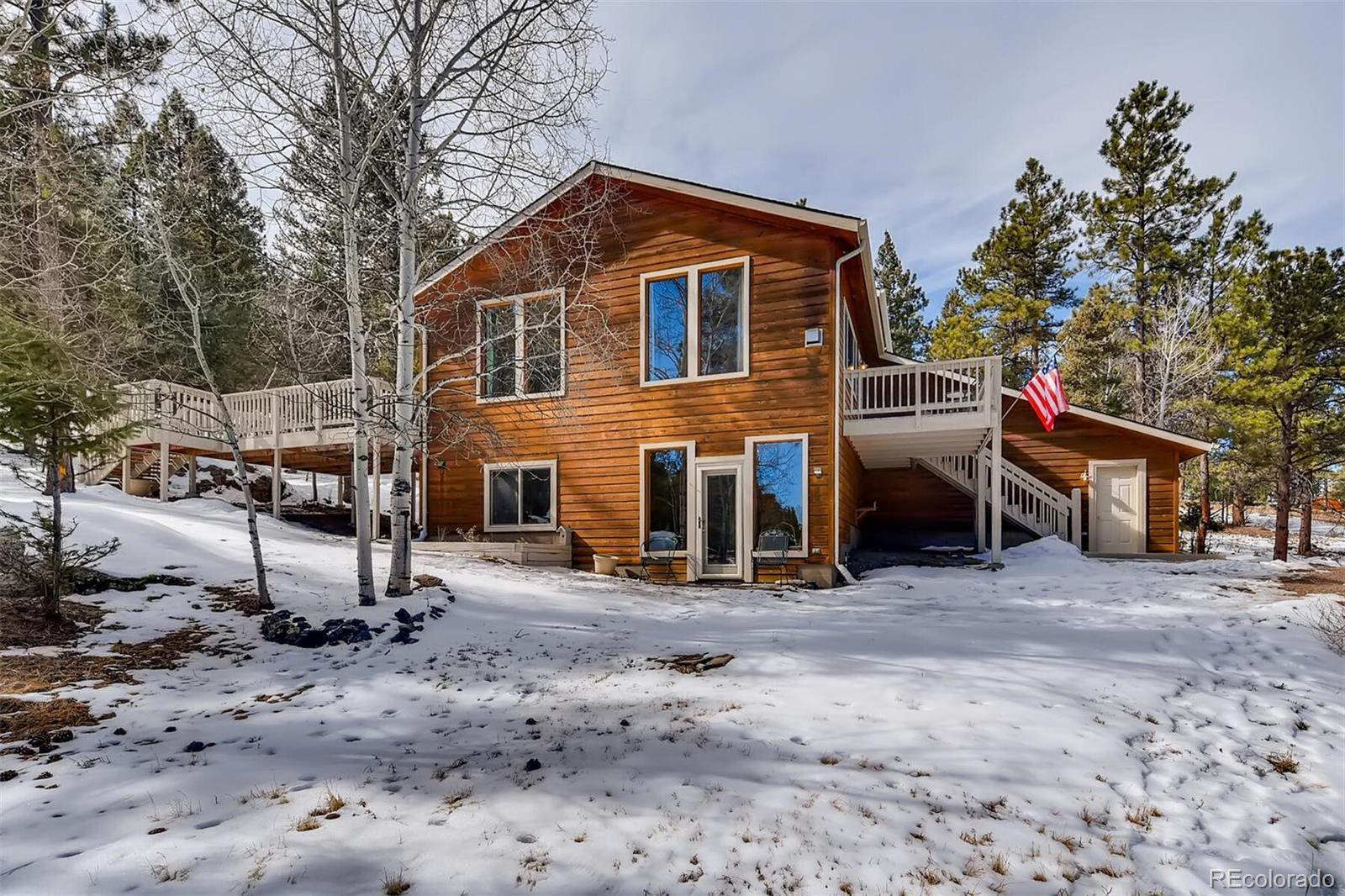 Single Family Homes pour l Vente à 4607 County Road 72 Bailey, Colorado 80421 États-Unis