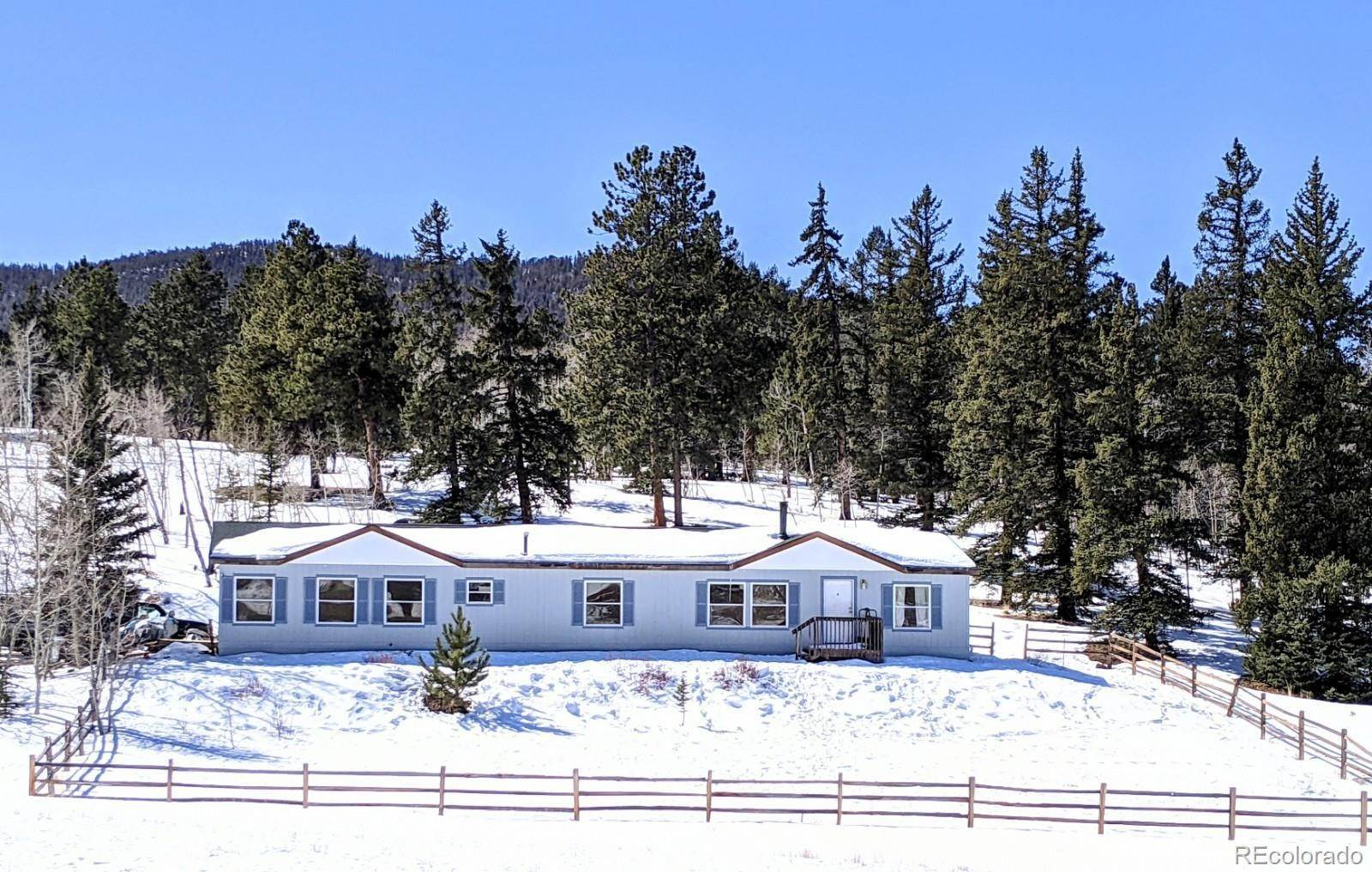Single Family Homes for Sale at 2604 Singletree Road Hartsel, Colorado 80449 United States