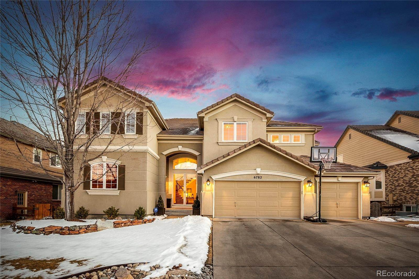 Single Family Homes for Sale at 6782 Esperanza Drive Castle Pines, Colorado 80108 United States