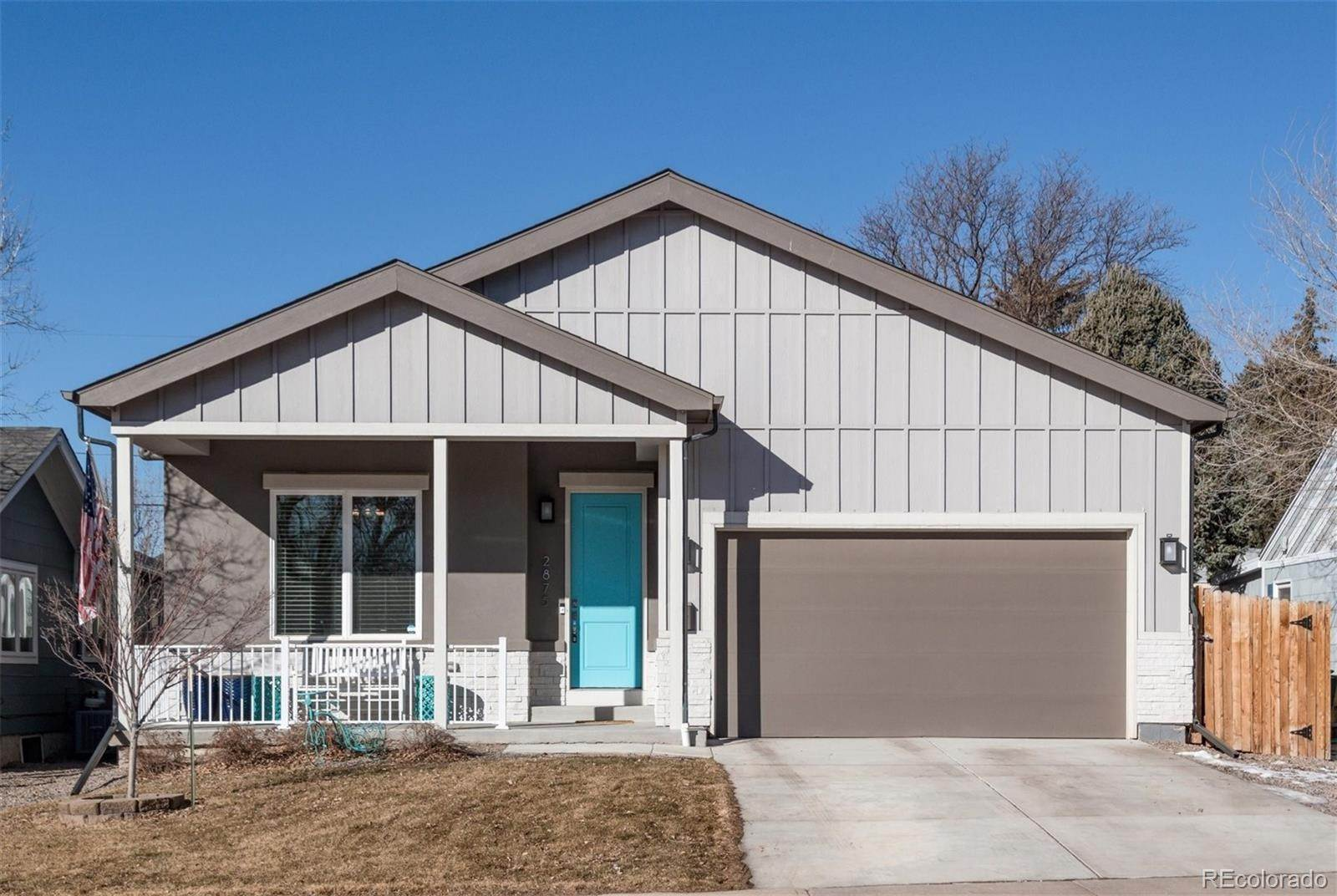 Single Family Homes pour l Vente à 2875 S Logan Street Englewood, Colorado 80113 États-Unis