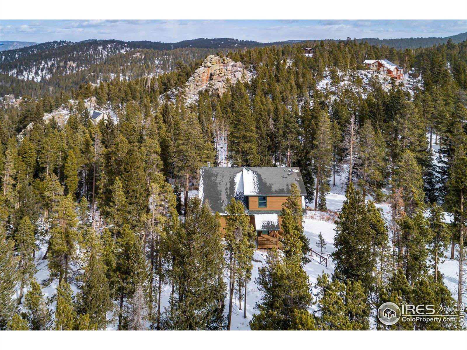 Single Family Homes pour l Vente à 126 Saint Vrain Trail Ward, Colorado 80481 États-Unis