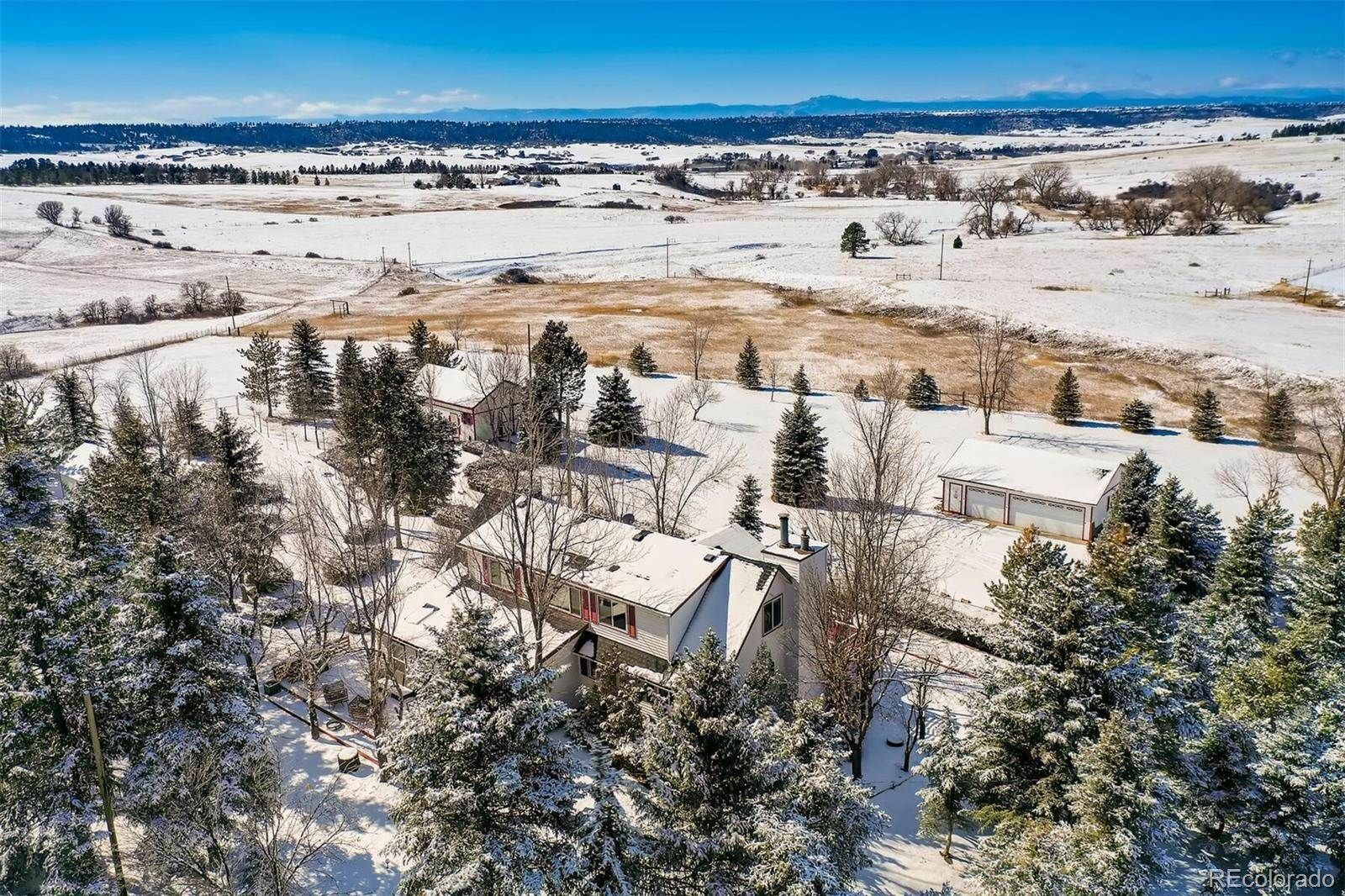 Single Family Homes for Sale at 9116 Warriors Mark Drive Franktown, Colorado 80116 United States