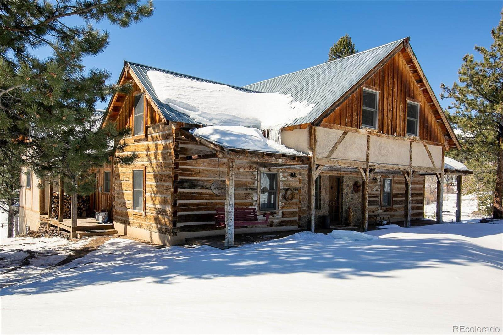 Single Family Homes pour l Vente à 36105 County Road LL56 Villa Grove, Colorado 81155 États-Unis