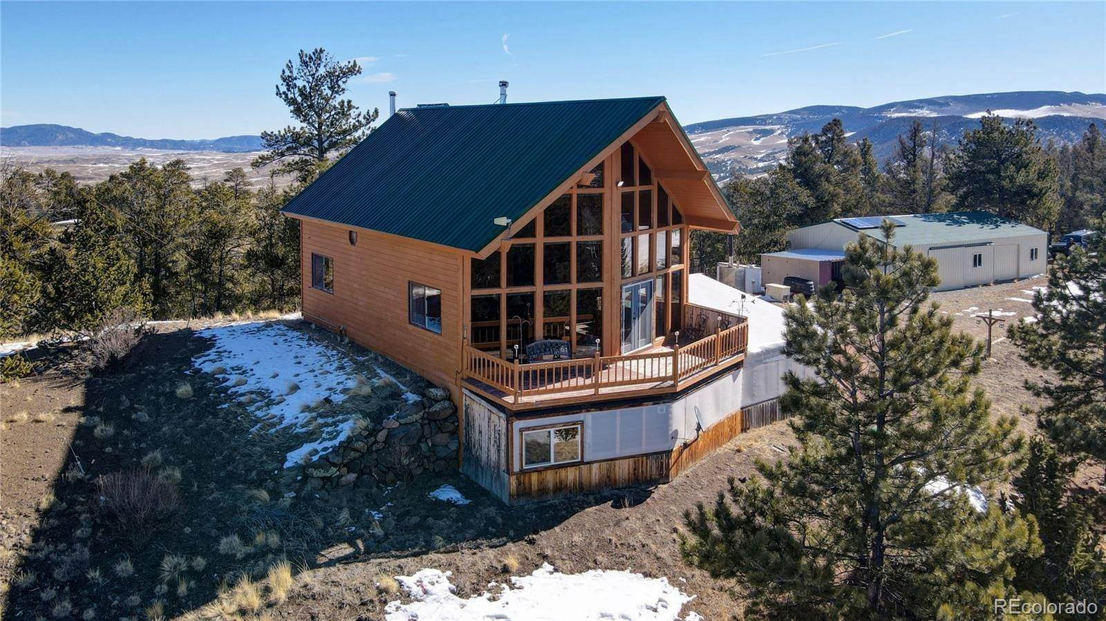 Single Family Homes por un Venta en 741 Wolf Road Hartsel, Colorado 80449 Estados Unidos