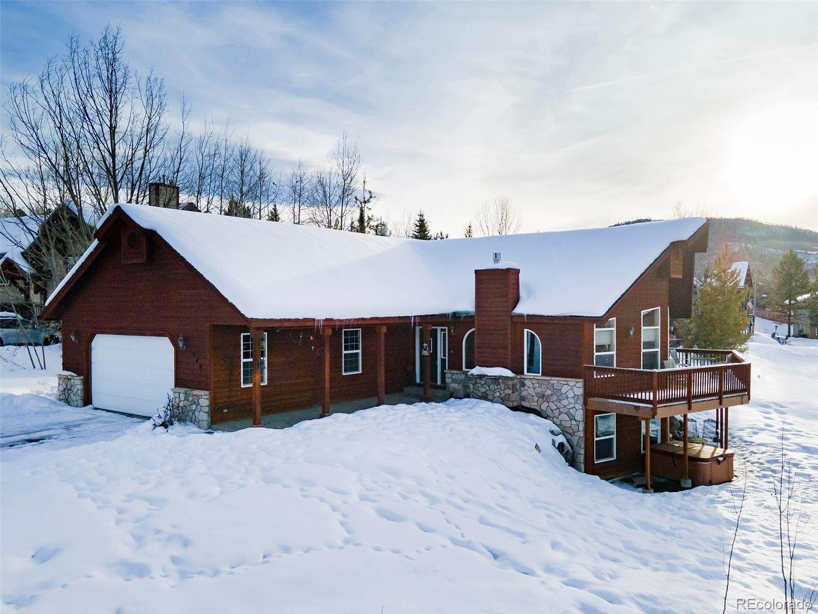 Single Family Homes for Sale at 340 Apple Drive Steamboat Springs, Colorado 80487 United States