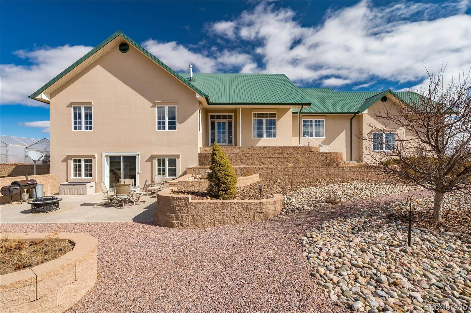 Single Family Homes pour l Vente à 22970 Murphy Road Calhan, Colorado 80808 États-Unis