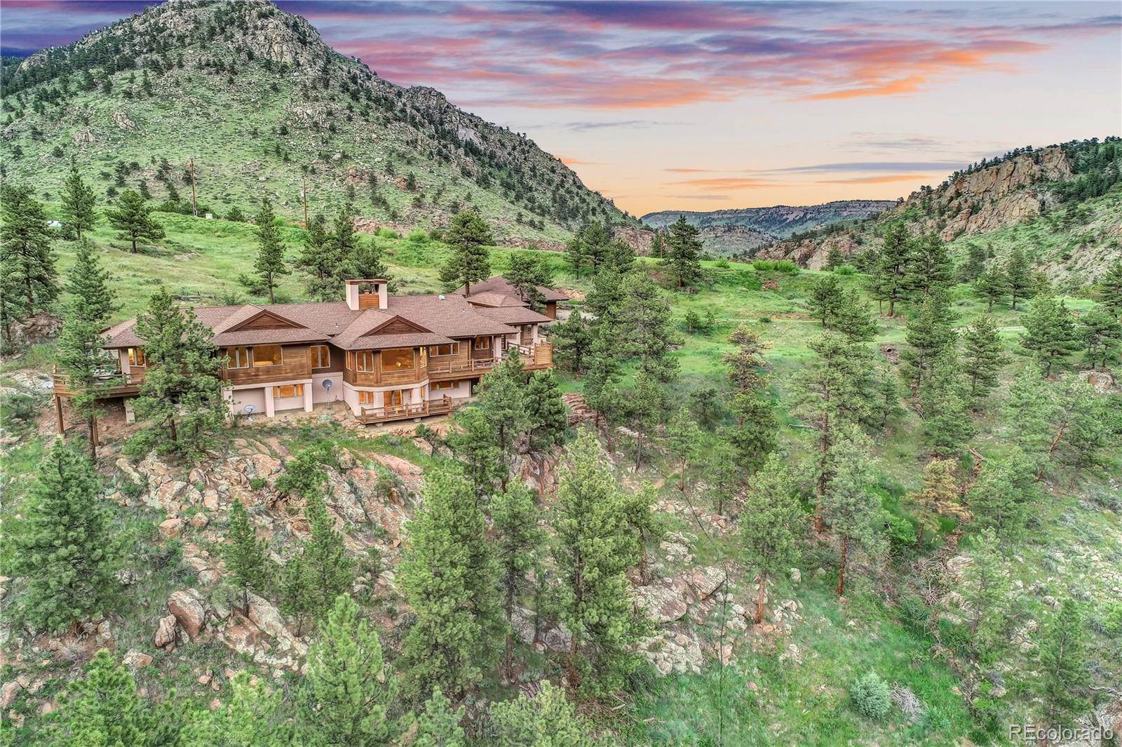 Single Family Homes for Sale at 1221 Longmont Dam Road Lyons, Colorado 80540 United States