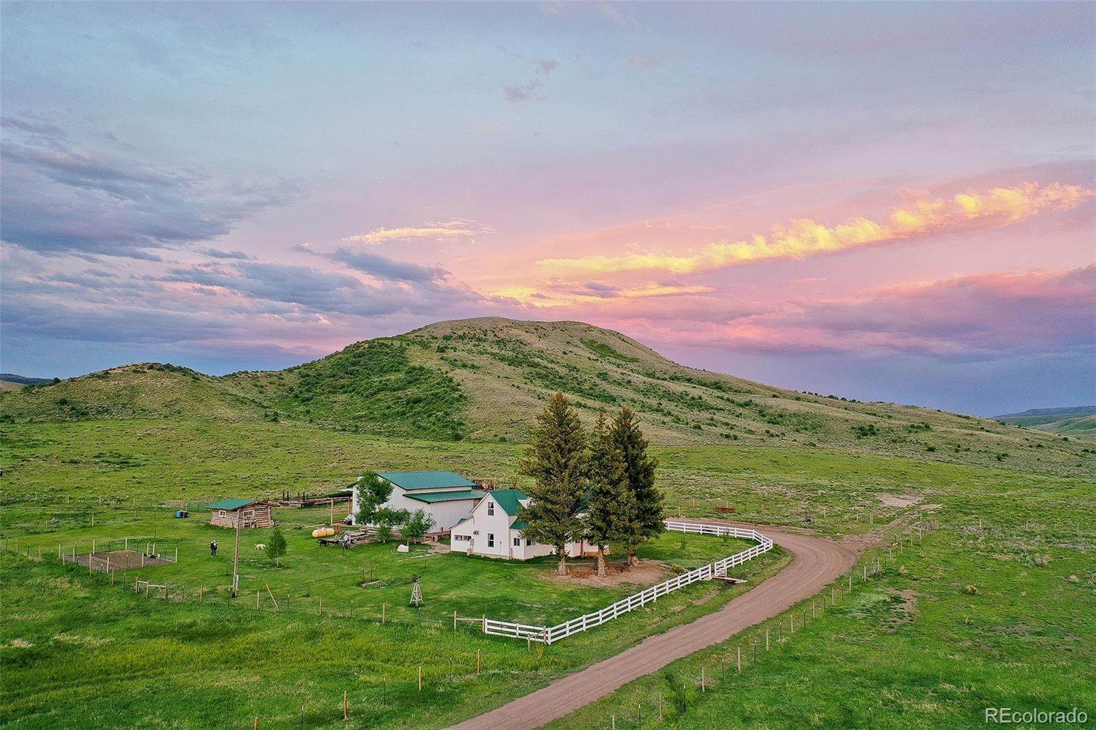 Single Family Homes for Sale at 13400 State Highway 131 Yampa, Colorado 80483 United States
