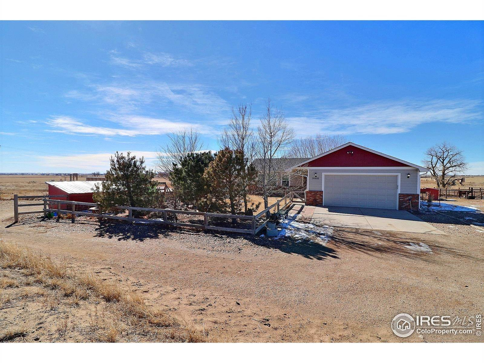 Single Family Homes por un Venta en 34485 County Road 61 Gill, Colorado 80624 Estados Unidos