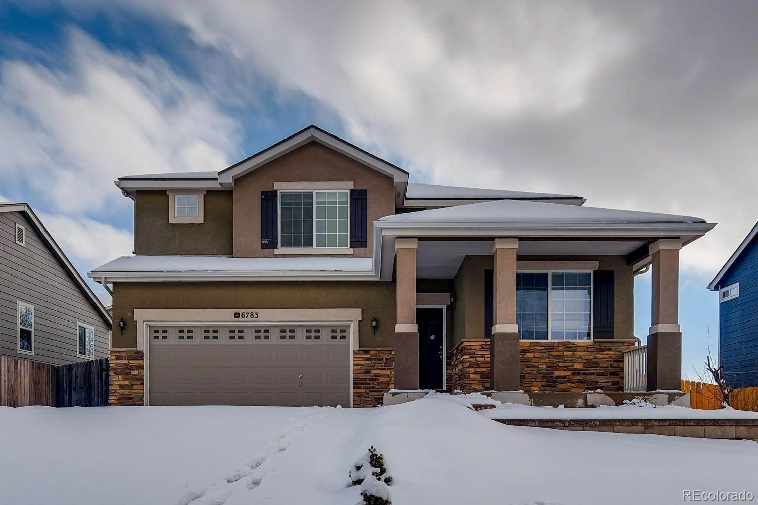 Single Family Homes por un Venta en 6783 Camino Del Rey Fountain, Colorado 80817 Estados Unidos