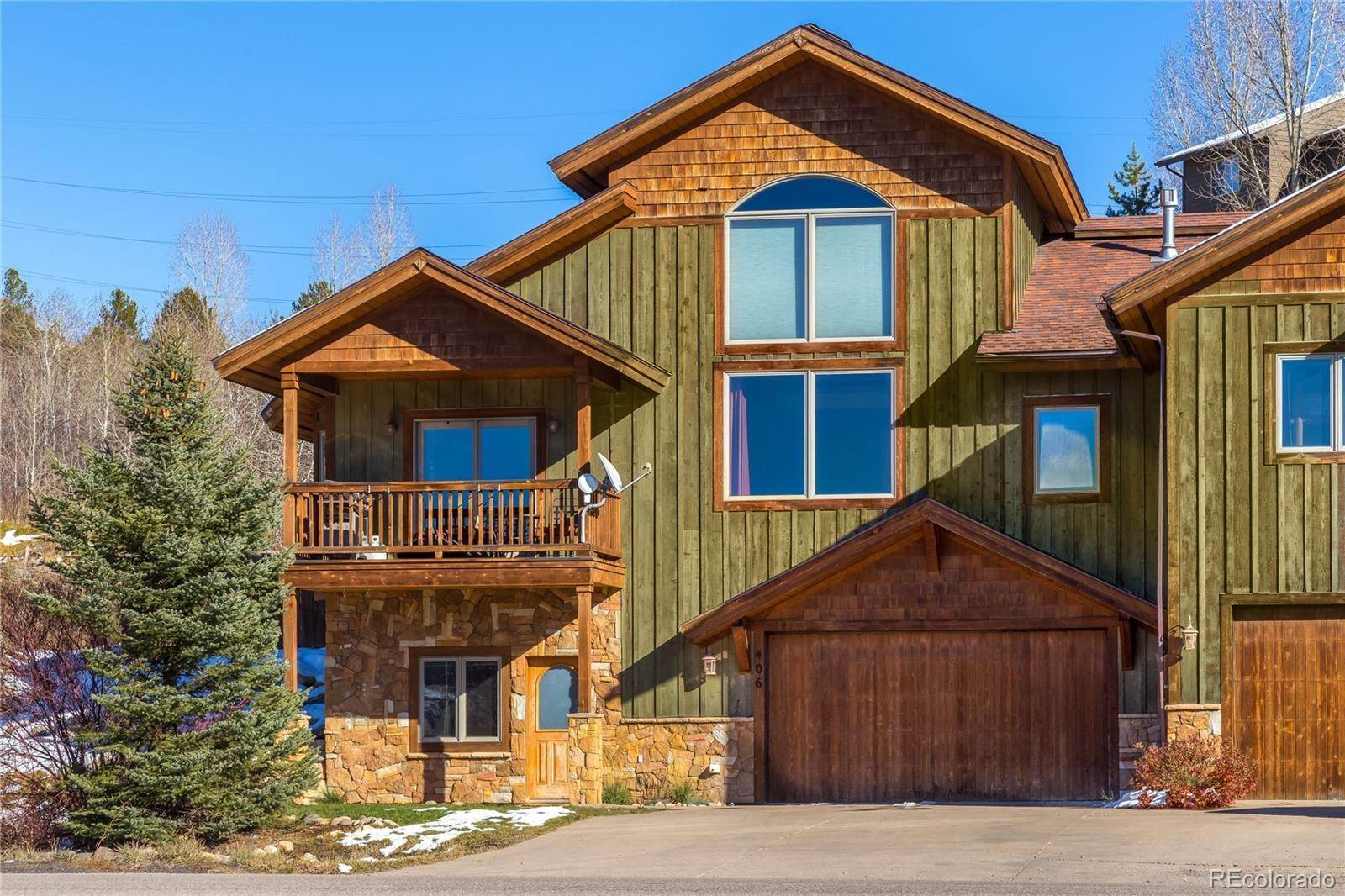 townhouses for Sale at 406 Hilltop Parkway Steamboat Springs, Colorado 80487 United States