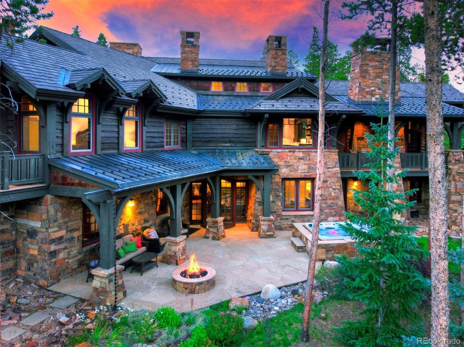 Single Family Homes for Sale at 33 Iron Mask Road Breckenridge, Colorado 80424 United States