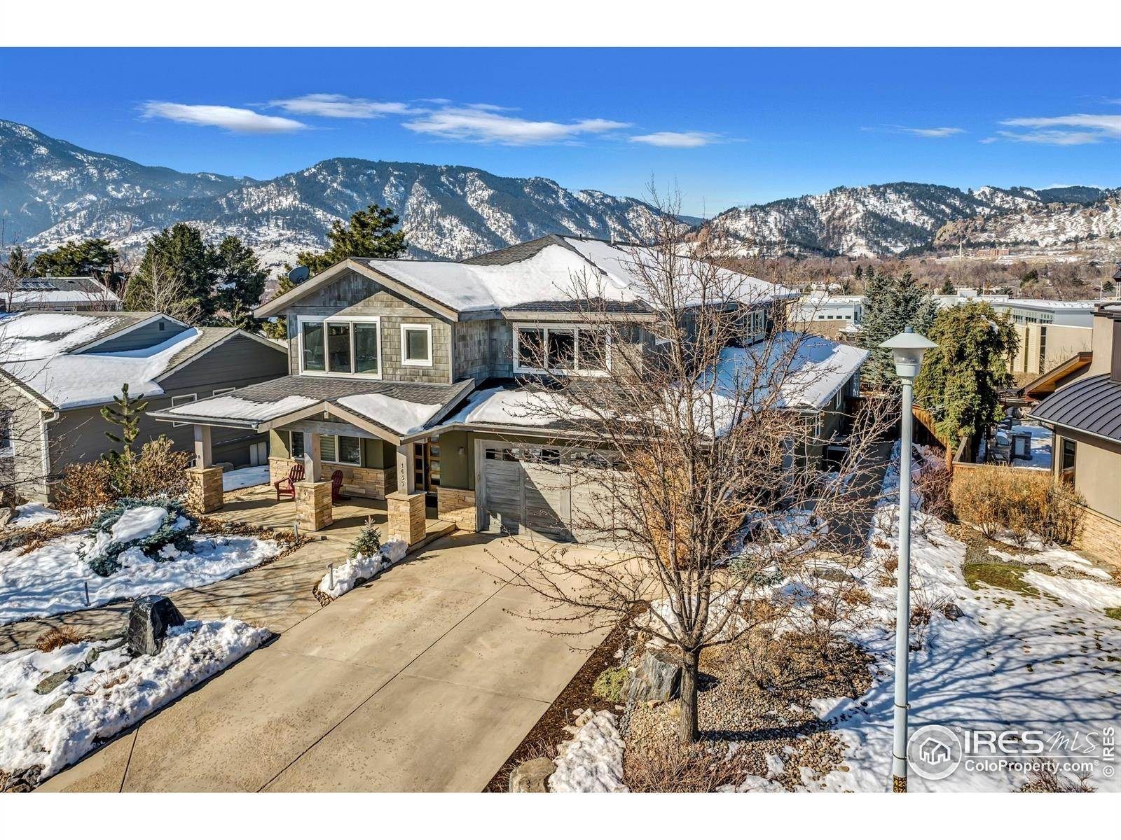 Single Family Homes pour l Vente à 1435 Sunset Boulevard Boulder, Colorado 80304 États-Unis