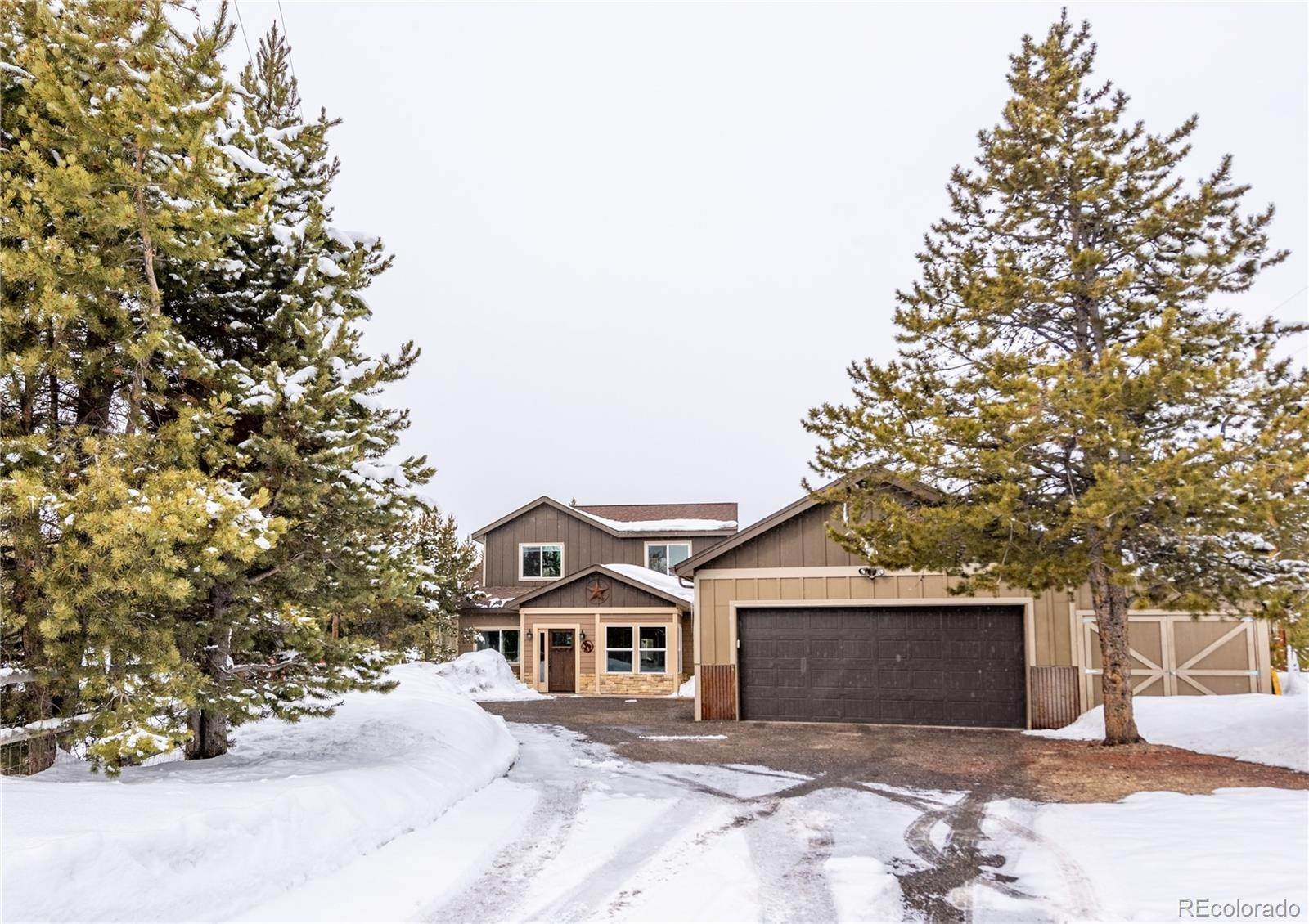 Single Family Homes pour l Vente à 23517 County Rd 50 Fraser, Colorado 80442 États-Unis