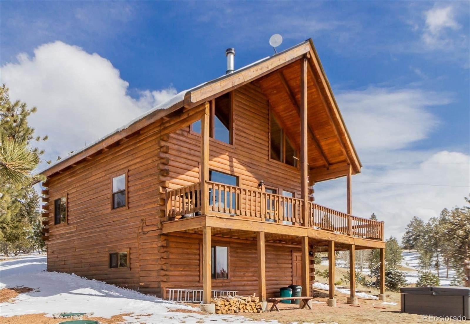 Single Family Homes por un Venta en 37 Divide Circle Florissant, Colorado 80816 Estados Unidos