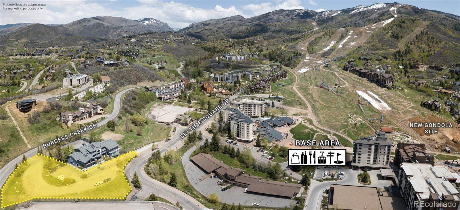 Land for Sale at 1.12 Acres Ski Time Square Drive Steamboat Springs, Colorado 80487 United States