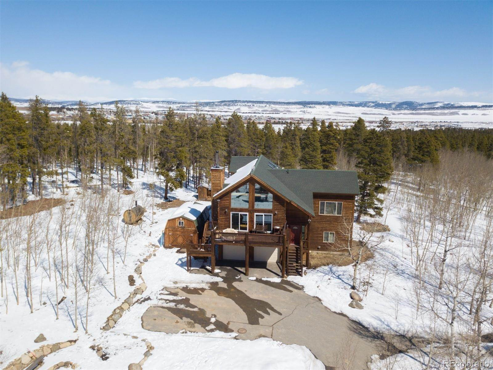 Single Family Homes for Sale at 999 Thompson Park Road Fairplay, Colorado 80440 United States