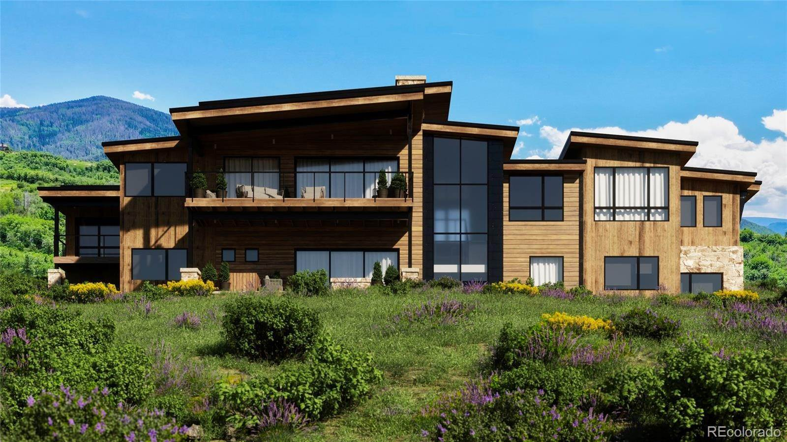 Single Family Homes pour l Vente à 33655 Bald Eagle Drive Steamboat Springs, Colorado 80487 États-Unis