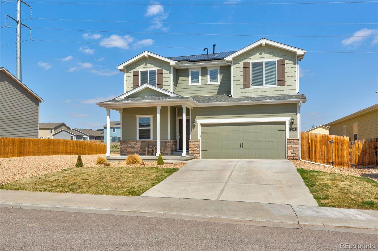 Single Family Homes por un Venta en 293 Whimsical Avenue Lochbuie, Colorado 80603 Estados Unidos