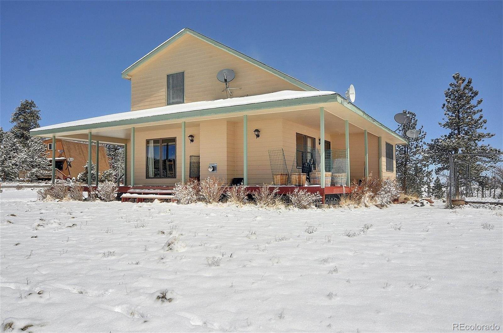 Single Family Homes por un Venta en 15 Whip Way Hartsel, Colorado 80449 Estados Unidos